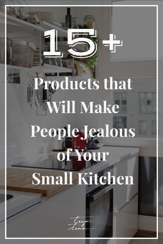 multifunctional kitchen products for small kitchen design - minimalist kitchen products