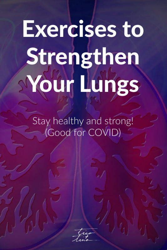 how our family got through covid - covid lung exercises